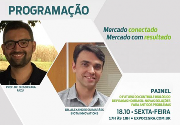 noticia biota innovations na 7ª expocigra fiemg  da biota innovations uberaba mg